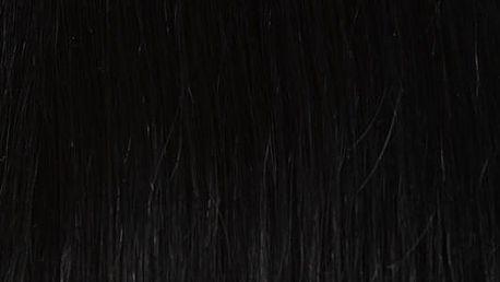 CLIP IN vlasy - set 38 cm uhlově černá