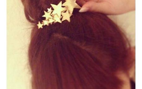 Spona do vlasů Hvězdy