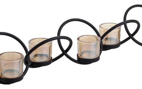 Svícen na 5 svíček InArt
