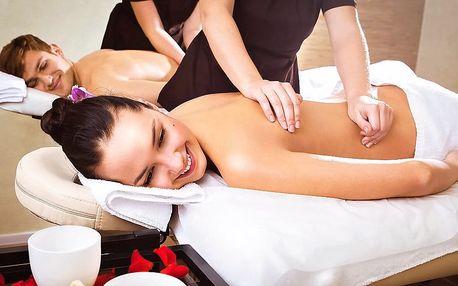 Až 2 hodiny relaxace pro dva: masáž a vířivka