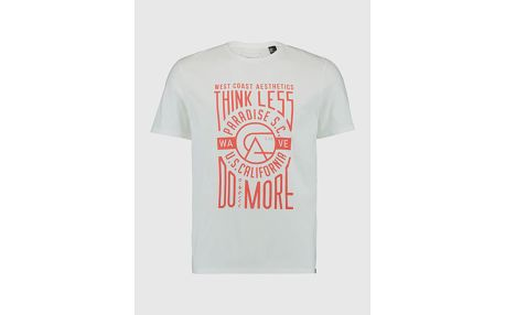 Tričko O´Neill LM THINK LESS, DO MORE T-SHIRT Bílá