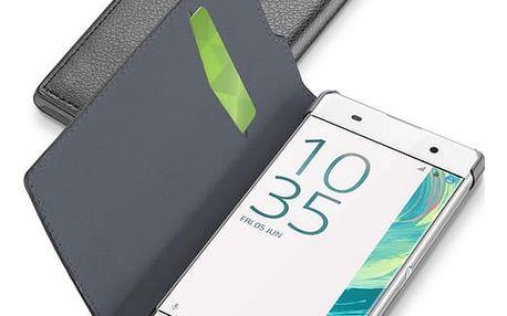 Pouzdro CellularLine Book Essential pro SonyXperia XA, černé