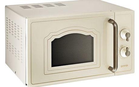 Mikrovlnná trouba Gorenje Classico MO 4250 CLI béžová + DOPRAVA ZDARMA