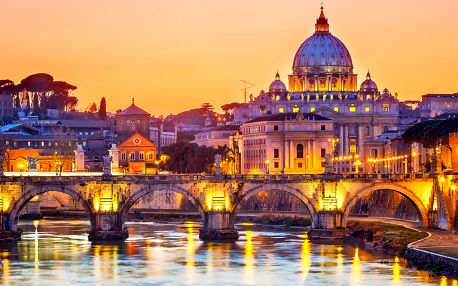 5denní zájezd do Říma, Neapole, Pompejí s výstupem na Vesuv a plavbou na ostrov Ischia