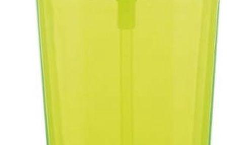 Kela Dávkovač mýdla Kristall zelená, 350 ml