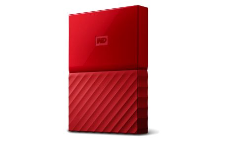 "Externí pevný disk 2,5"" Western Digital 1TB (WDBYNN0010BRD-WESN) červený"
