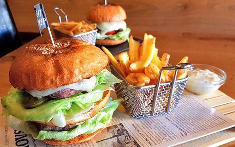 Hovězí burgery inspirované filmem Pulp Fiction