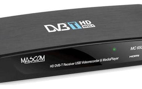 Mascom MC650THD USBPVR černý