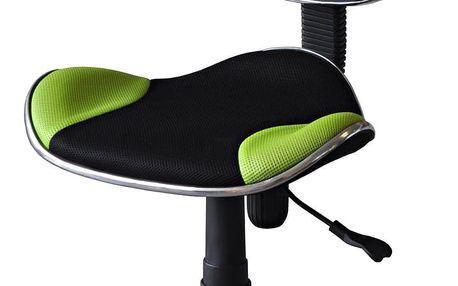Dětská židle Nova zeleno / černá Idea