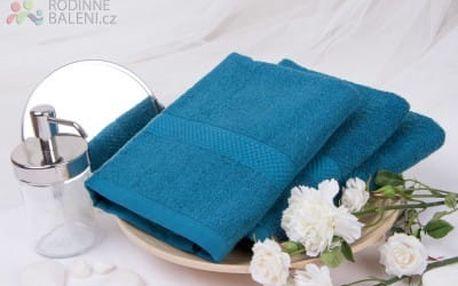 XPOSE ® Froté ručník VERONA - tmavě modrá 50x90 cm
