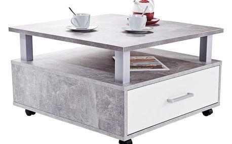 Konferenční stolek duo, 75/45/75 cm