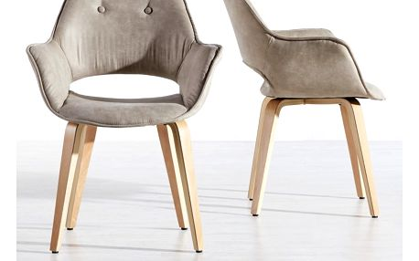 Židle s područkami nadja, 63/85/60 cm
