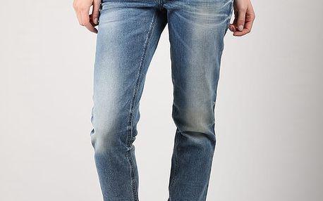 Džíny Diesel Belthy L.32 Pantaloni Modrá