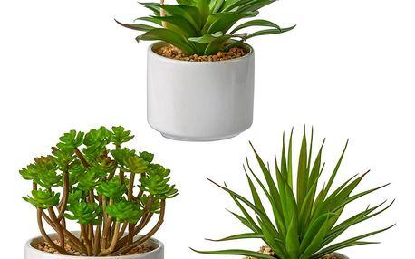 Rostlina umělá helena, 18 cm
