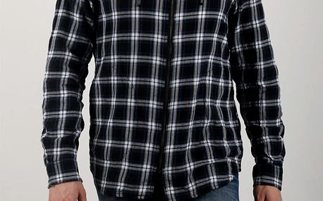 Košile Diesel S-HOODZIP TOP Černá