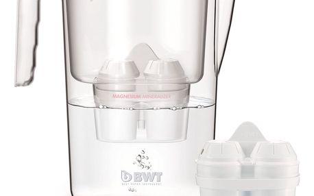 Náhradní filtry BWT Gourmet Mg2+ (2 ks) + filtrační konvice Vida ZDARMA