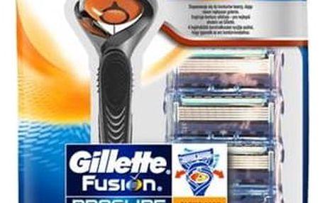 Gillette Proglide Flexball + hlavice 4 ks