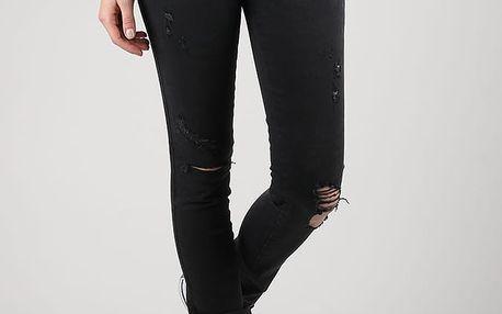 Džíny Diesel Skinzee-Low L.32 Pantaloni Černá