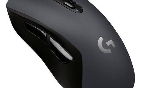 Myš Logitech Gaming G603 (910-005101) černá Dárek Logitech – Gillette Fusion Proglide Flexball + Doprava zdarma