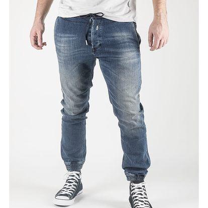 Džíny Diesel Duff Pantaloni Modrá