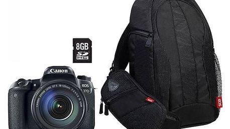 Digitální fotoaparát Canon EOS 77D + 18-135 IS USM Value Up Kit (1892C034) černý + Cashback 2700 Kč + Doprava zdarma