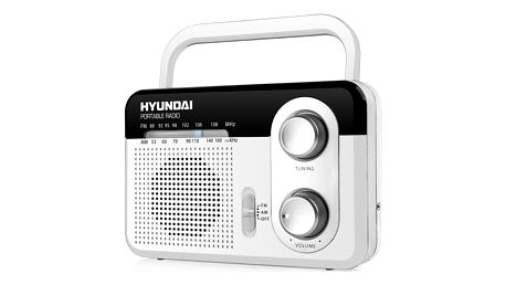Radiopřijímač Hyundai PR 411 W bílý