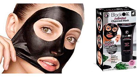 Black off slupovací maska