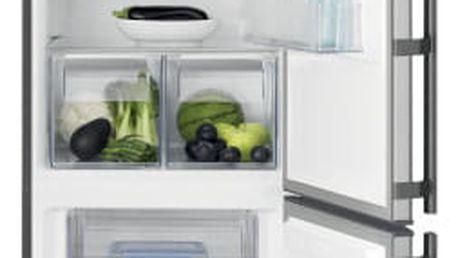Chladnička s mrazničkou Electrolux EN3853MOX nerez + DOPRAVA ZDARMA