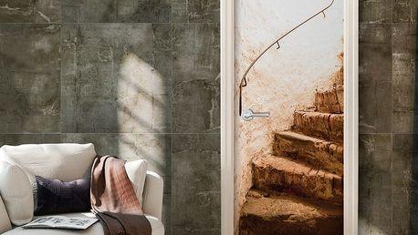Tapeta na dveře v roli Bimago A Secret Place, 80x210cm