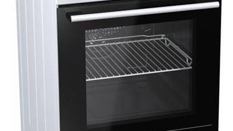 Kombinovaný sporák Mora Premium K 110 AW1 bílý
