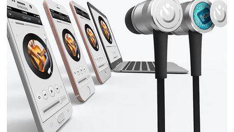Bezdrátová špuntová sluchátka s magnetem