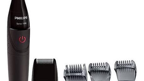Zastřihovač vousů Philips Multigroom series 1000 MG1100/16 černý