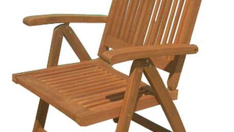 Texim Brazil eukalyptová polohovací židle