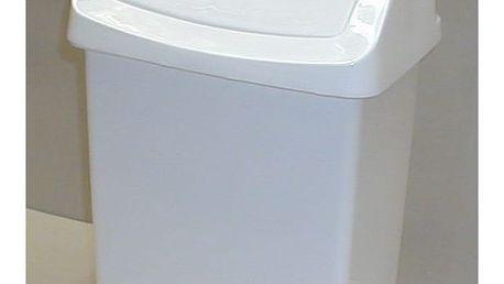 CURVER 31421 Koš odpadkový CLICK 50l - bílý