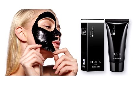 Pleťová maska PILATEN proti černým tečkám