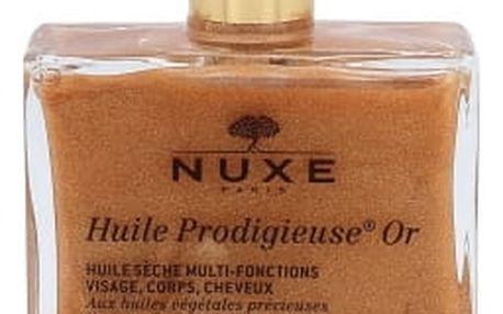 NUXE Huile Prodigieuse Or Multi Purpose Dry Oil Face, Body, Hair 50 ml tělový olej pro ženy
