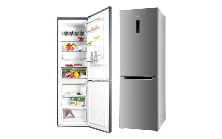 Kombinace chladničky s mrazničkou ETA 237090010 nerez + Doprava zdarma