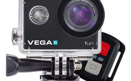 Outdoorová kamera Niceboy VEGA 5 fun + dálkové ovládání (vega-5-fun) černá Power Bank Niceboy 10000mAh černá v hodnotě 599 Kč
