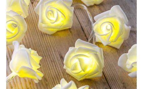 LED Svítící dekorace Květy růží
