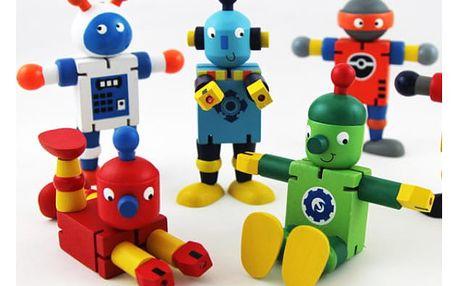 Dřevěný ohýbací robot