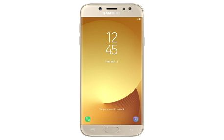 Smartphone Samsung Galaxy J7 (2017) (SM-J730FZDDETL), dual SIM, zlatá