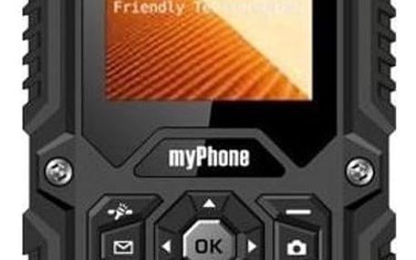 Mobilní telefon myPhone Hammer, černá