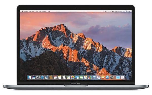 "Notebook Apple 13"" s Touch Bar 512 GB - Space Gray (MPXW2CZ/A) + DOPRAVA ZDARMA"