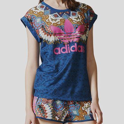 Tričko adidas Originals BORBOMIX TEE Modrá