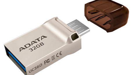USB Flash ADATA UC360 32GB (AUC360-32G-RGD) zlatý