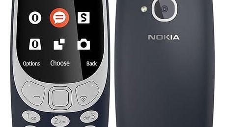 Mobilní telefon Nokia 3310 (2017) Single SIM (A00028098) modrý