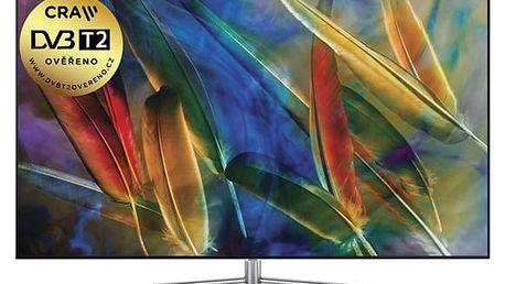 Televize Samsung QE65Q7F stříbrná + DOPRAVA ZDARMA