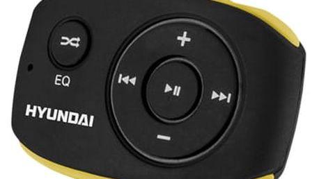 MP3 přehrávač Hyundai MP 312 GB4 BY černý/žlutý
