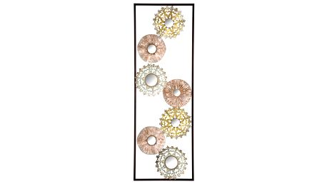 Kovová nástěnná dekorace Mauro Ferretti Gliss, 90 cm