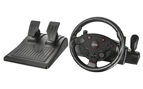 Volant Trust GXT 288 pro PS3, PC + pedály (20293)